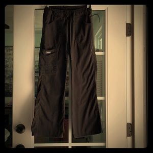 Cherokee scrub pants black